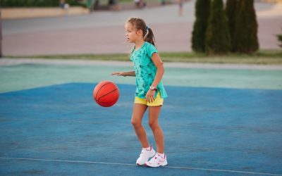 """Within weeks of Vision Therapy, her basketball skills improved so much the coaches were amazed."""