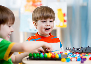 Preschooler with Convergence Insufficiency struggling with fine motor tasks and following directions