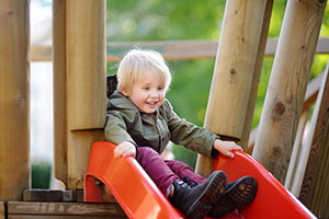 Vision Therapy for an eye turn/Timid on the playground